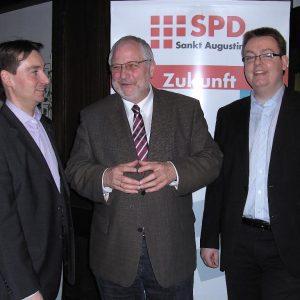 Sebastian Hartmann, Karl Schultheis und Denis Waldästl