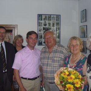 Ausstellungseröffnung mit Sebastian Hartmann und Peter R. Kern