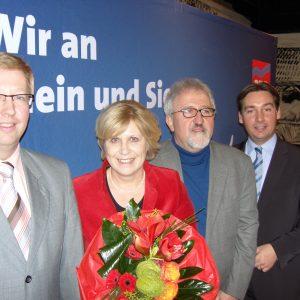 Führungsriege der SPD Rhein-Sieg